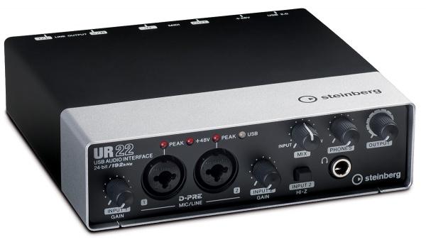 雅马哈 Yamaha Steinberg UR22 外置录音声卡 音频接口