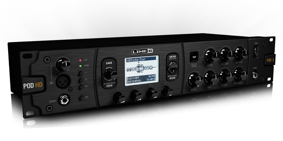 Line6 POD HD500X 吉他综合效果器