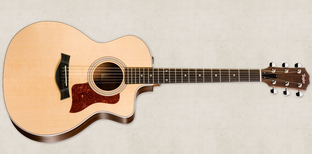 泰勒 Taylor 214ce 单板电箱民谣吉他