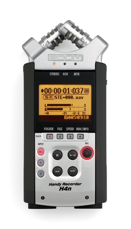 正品行货 ZOOM H4N 录音机 便携录音机 数码录音机