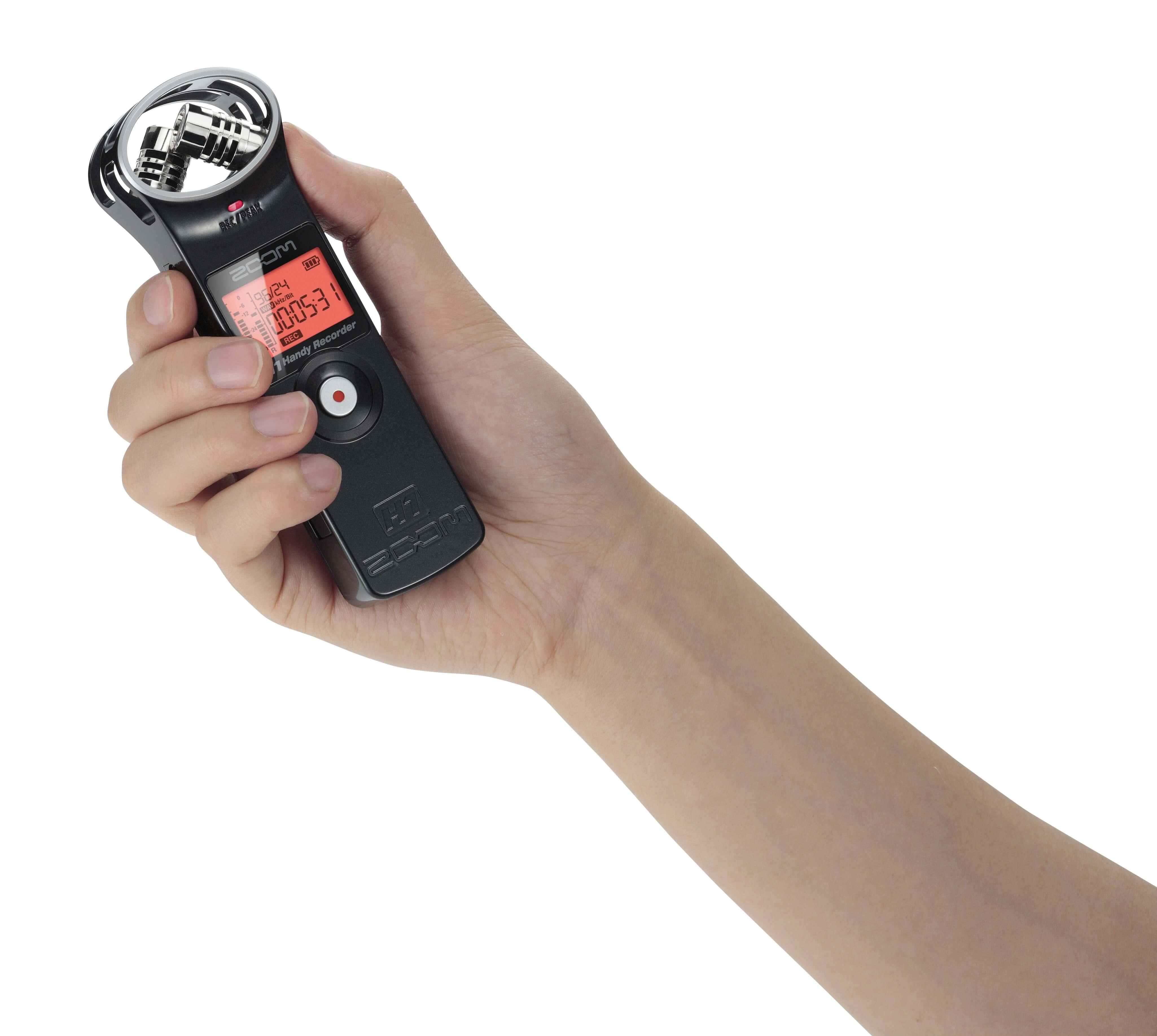 ZOOM H1 录音机 录音笔 黑白可选