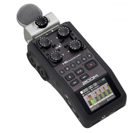 Zoom H6 新闻采访 便携专业手持 数字录音机 录音机 H4N升级款