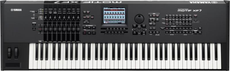雅马哈 Yamaha Motif XF7 76键 音乐合成器 电子琴 工作站 键盘 硬音源