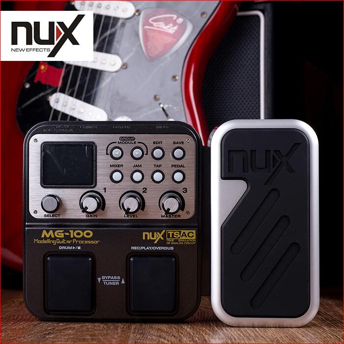 小天使 NUX MG-100 电吉他效果器 带鼓机