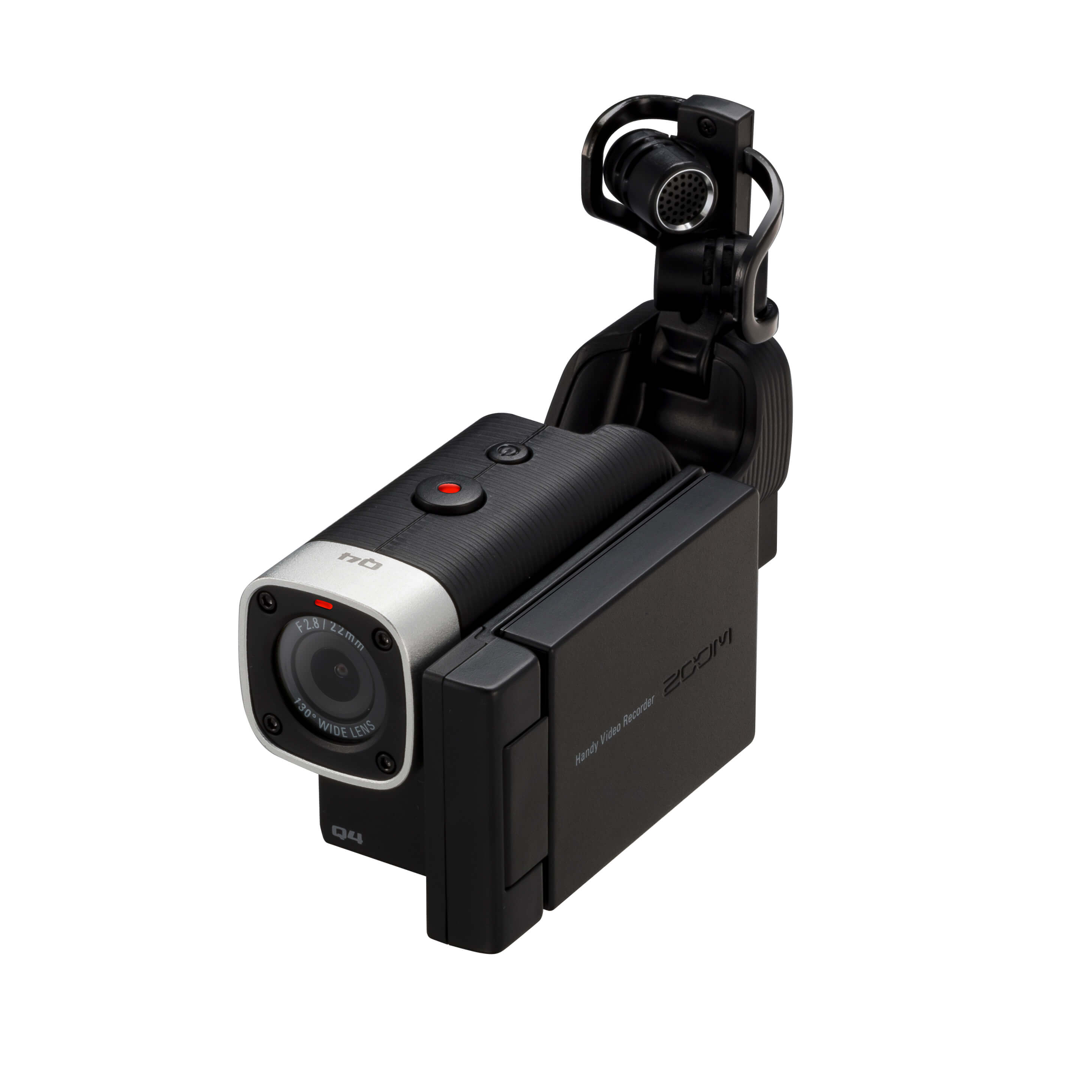 ZOOM Q4 专业录音摄影机一体机 吉他弹唱 Q3HD升级 中文电源