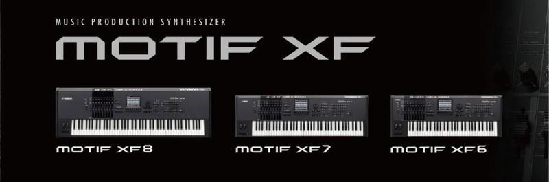 雅马哈 Yamaha Motif XF6 61键 音乐合成器 电子琴 工作站 键盘 硬音源