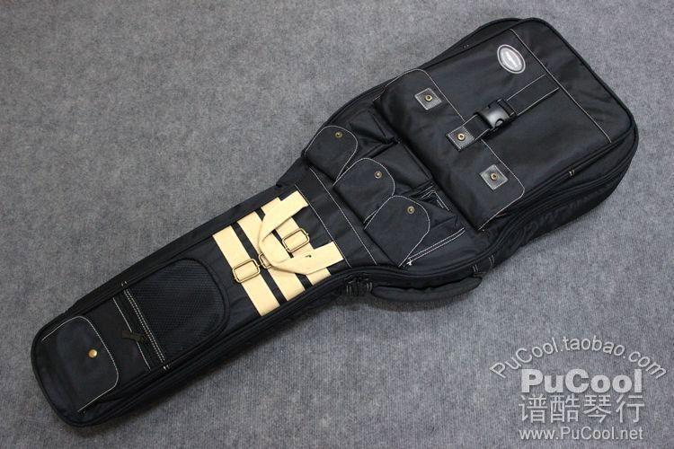 新款 正品 Kava 电吉他包 电琴包 25MM 加厚 黑色