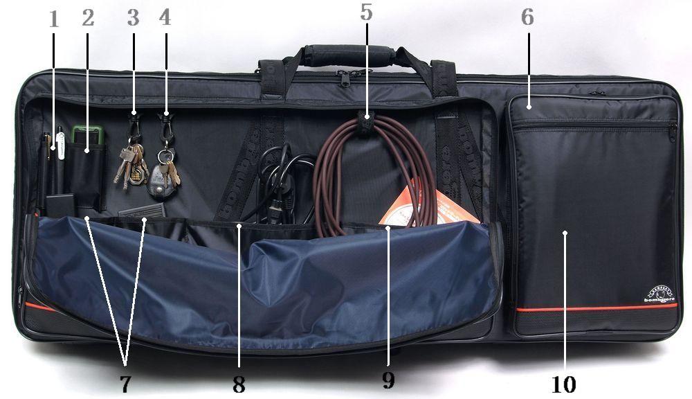 bombgere 布格 炸弹人 NORD 诺德 电子琴包、键盘包、合成器包