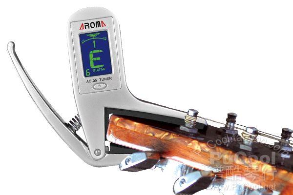 正品 阿诺玛 AROMA AC05 AC-05 全金属变调夹式调音器 调音表特价