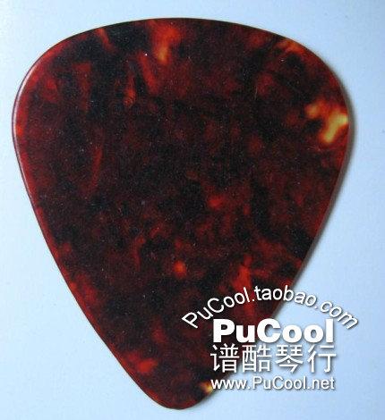 正品 Fender Medium 型号 芬达 吉他拨片 贝斯拨片 褐色