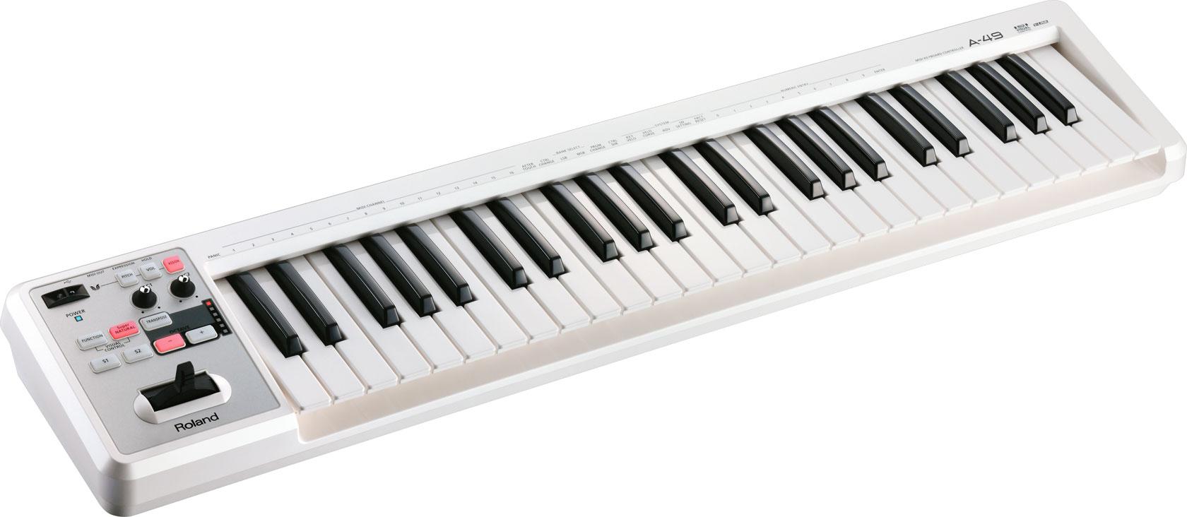 罗兰 Roland A-49 A49 MIDI键盘控制器