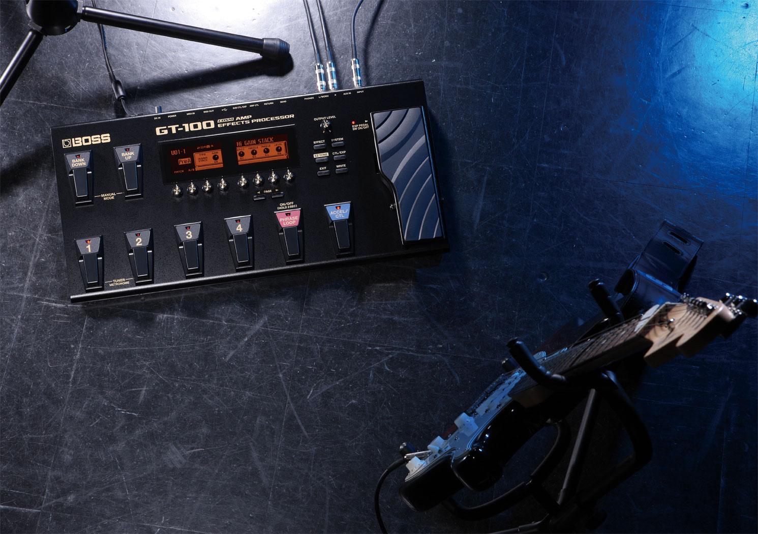 包邮 正品 BOSS GT100 电吉他综合效果器