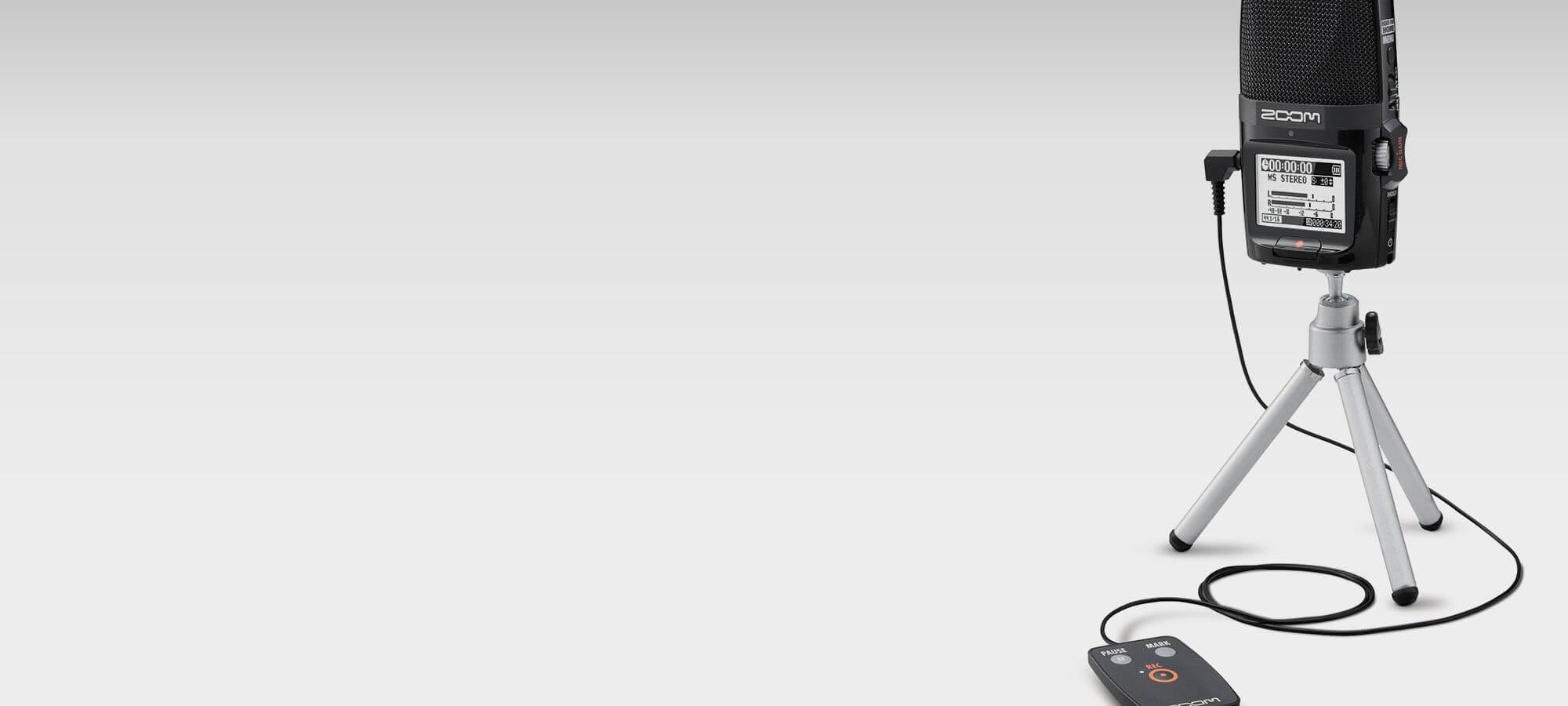 ZOOM H2N 2GB 录音笔 4种麦克风可调 USB声卡