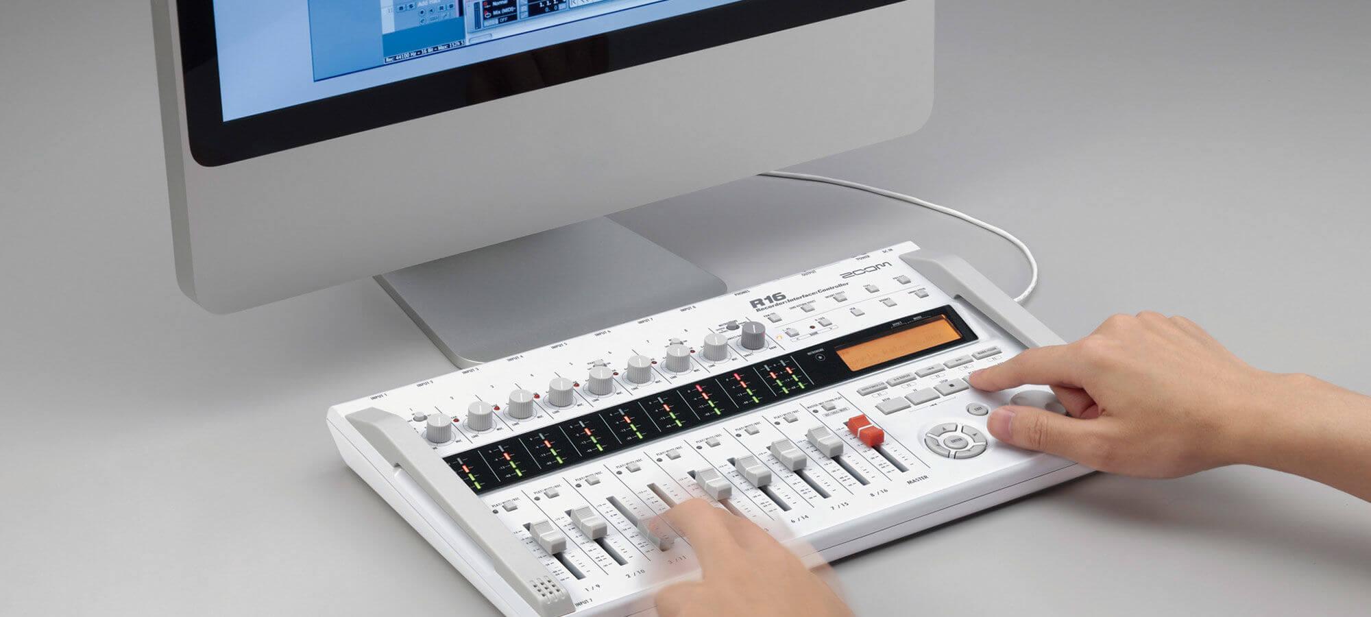 行货 ZOOM R16 数字音频工作站 录音机 声卡