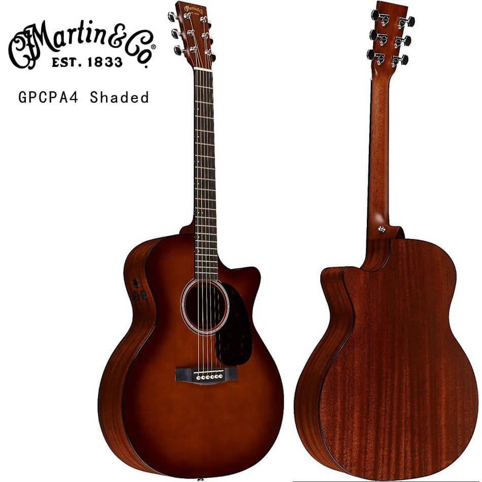 马丁 Martin DCPA4 GPCPA4 Shaded 全单电箱民谣吉他