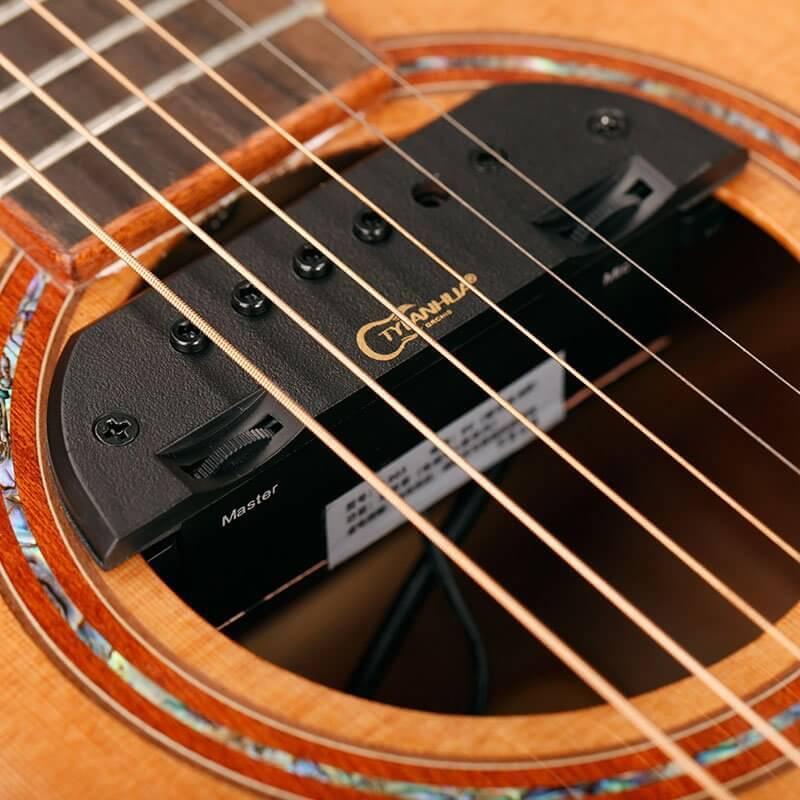 正品 天音 LANHUA T-903 民谣吉他拾音器 音孔磁感 免开孔