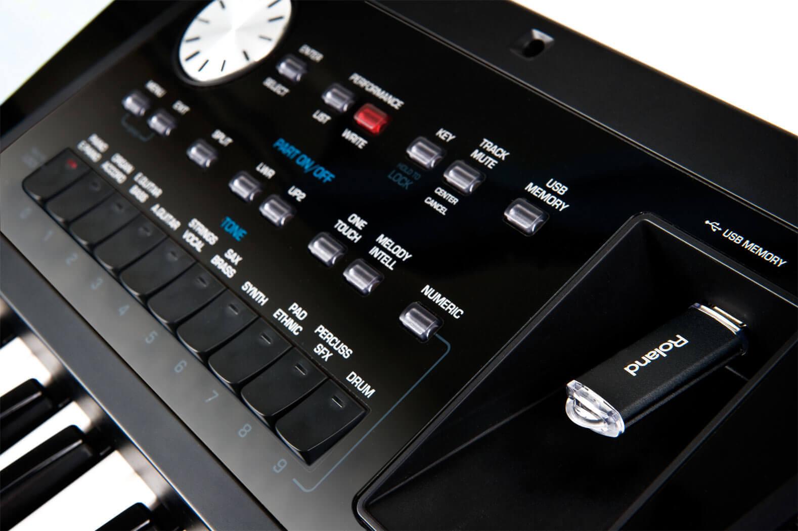 罗兰 Roland BK-5 合成器 编曲键盘 智能自动伴奏电子琴