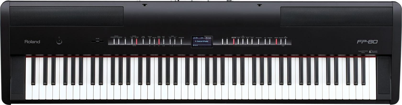 罗兰 Roland FP-80 88键 电钢琴  舞台电钢琴