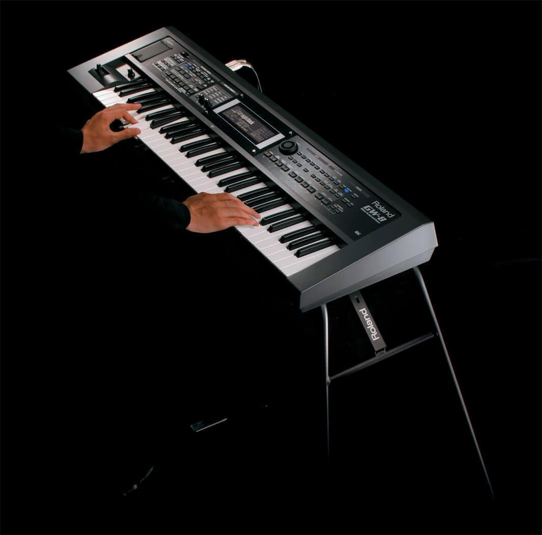 罗兰 Roland gw-8 61键 编曲键盘 合成器 民乐音色