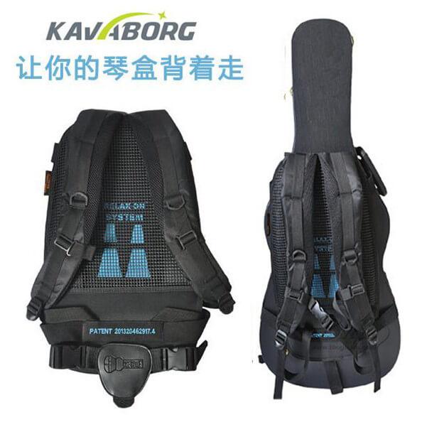 KAVABORG 民谣木吉他 电吉他琴盒背带/琴箱背带 靠垫背包 背带
