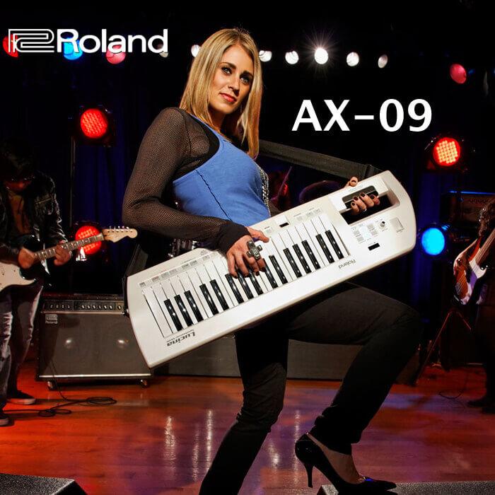 罗兰 Roland AX-09 37键肩背式键盘合成器 AX09 送包