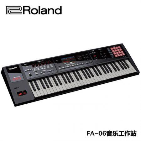 罗兰 roland fa 06 61键合成器包