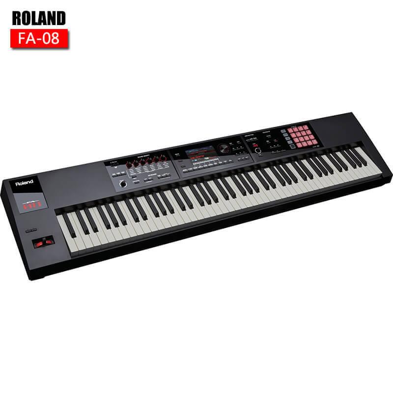罗兰 Roland FA 08 88键 合成器 音乐