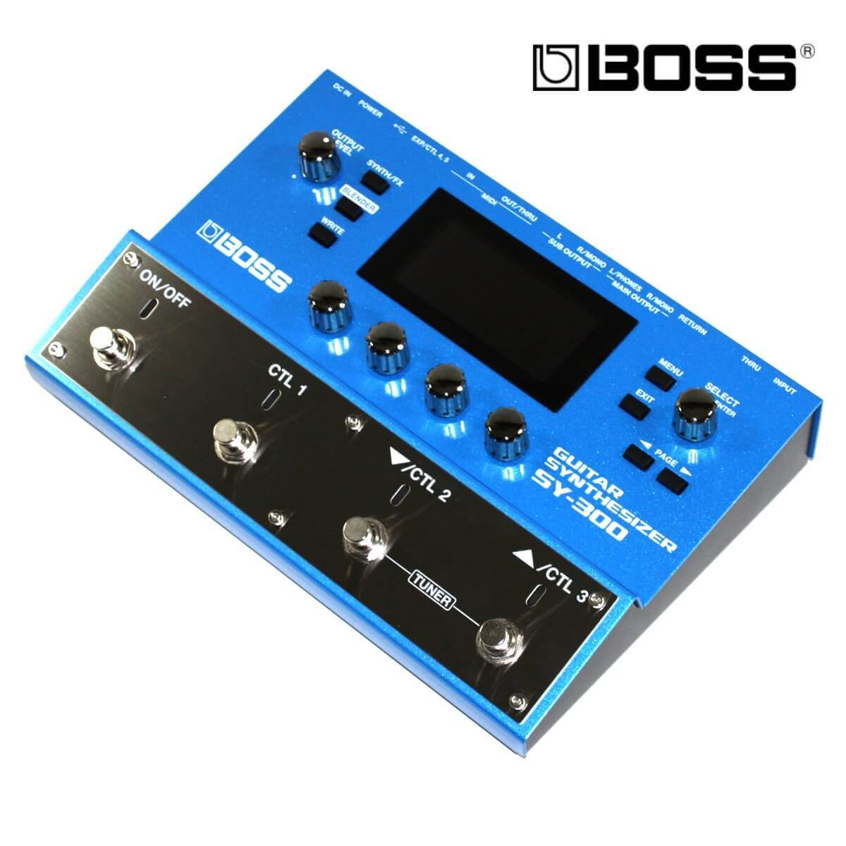 BOSS SY 300 电吉他合成效果器